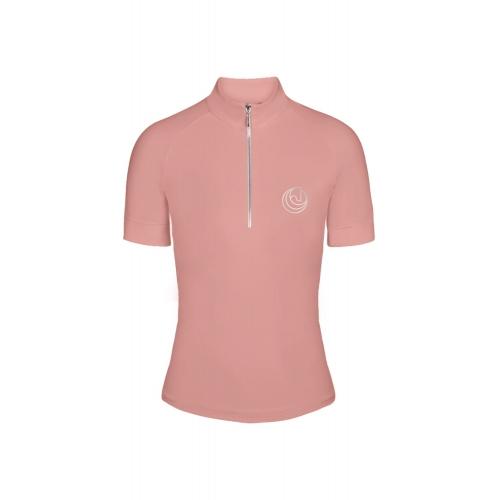 HS BASIC riding shirt pink kids